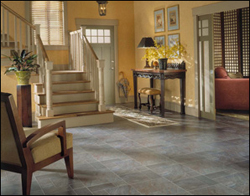 Foyer laminate floors